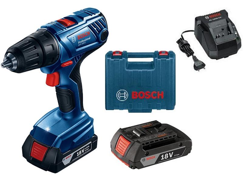 Máy khoan vặn vít dùng pin Bosch GSR 180 LI