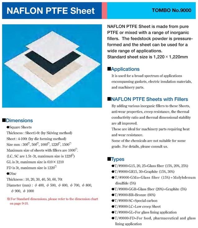 PTFE Tombo 9000