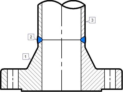 Mặt bích hàn cổ Welding Neck flange - Kiên Dũng