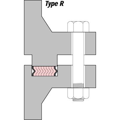 Vòng đệm kim loại làm kín SWG Type R Klinger Vietnam