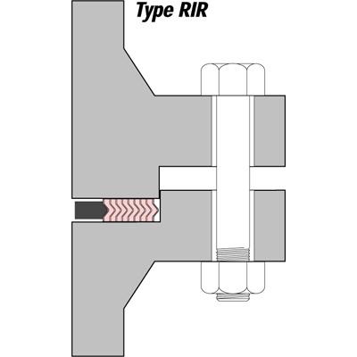 Vòng đệm kim loại làm kín SWG Type RIR Klinger Vietnam