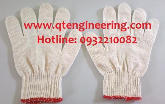 Găng tay len kim 7 màu trắng