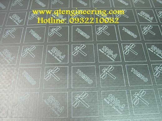 Gioăng chì graphite lưới inox 316/316L ở giữa Tombo No1210-A